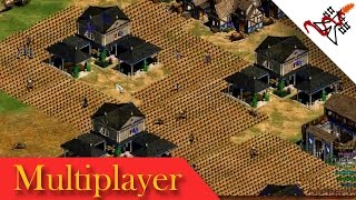 Age of Empires 2 - 3vs3vs2 TEAM PLAY | Multiplayer Gameplay