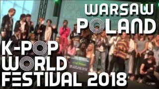 K-pop World Festival 2018 [Warsaw, Poland]