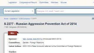 Bill Calls Russia the Aggressor