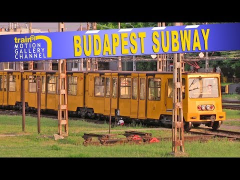 Sneak Peek : The Budapest Subway Line 1 Depot.