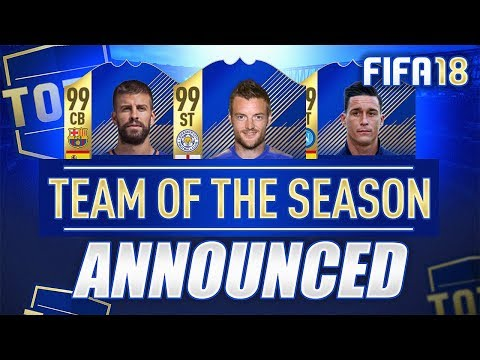 TEAM OF THE SEASON! (TOTS Most Consistent Voting) - FIFA 18 Team of the Season