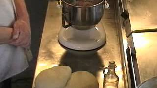 Pizza Dough Made In A Mixer.wmv