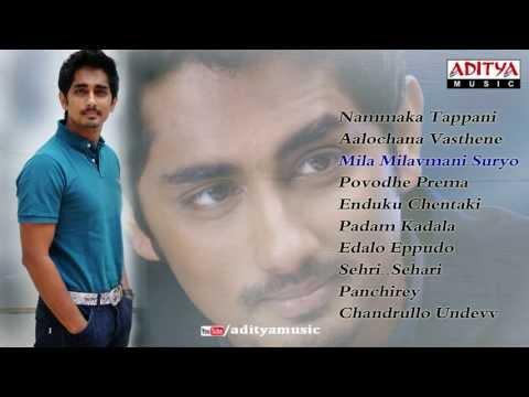 Siddharth Latest Telugu Hit Songs  Jukebox