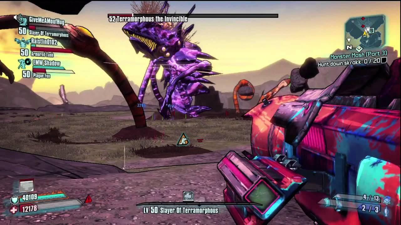 Terramorphous The Invincible LVL 52 - Borderlands 2