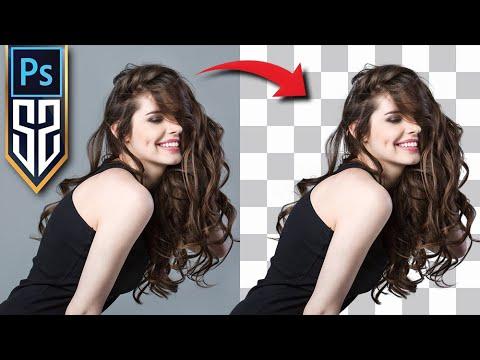 Saç Dekupe-Arka Plan Silme Değiştirme-Zor Seçimler Nasıl Png Yapılır-Photoshop CC Dersleri