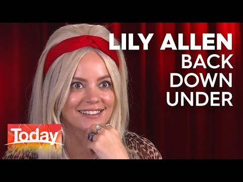 Lily Allen is back down under | TODAY Show Australia Mp3