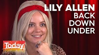 Lily Allen is back down under   TODAY Show Australia