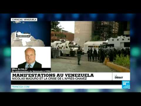 Manifestations au Venezuela : Nicolas Maduro et la crise de l'après-Chavez (Partie 1) - #DébatF24 poster
