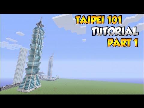 Minecraft Taipei 101 Tutorial PART 1 - XBOX/PS3/PC