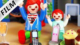 Playmobil Film Deutsch- JULIAN & EMMA MACHEN TELEFONSTREICHE BEI FREUNDEN! Kinderserie Familie Vogel