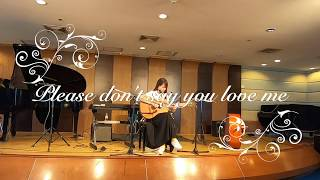 Please don&#39t say you love me -  Vocal Jury Exam 12019