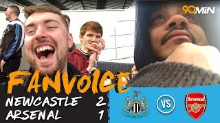Perez & ritchie score as newcastle beat arsenal 2-1 | newcastle v arsenal | 90min fanvoice