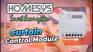 HomeSys - Curtain Control Module