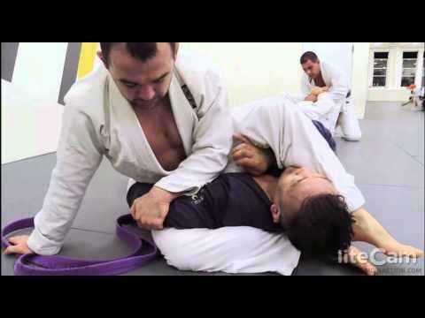 2014 April   Nick training at Marcelo Garcia NY