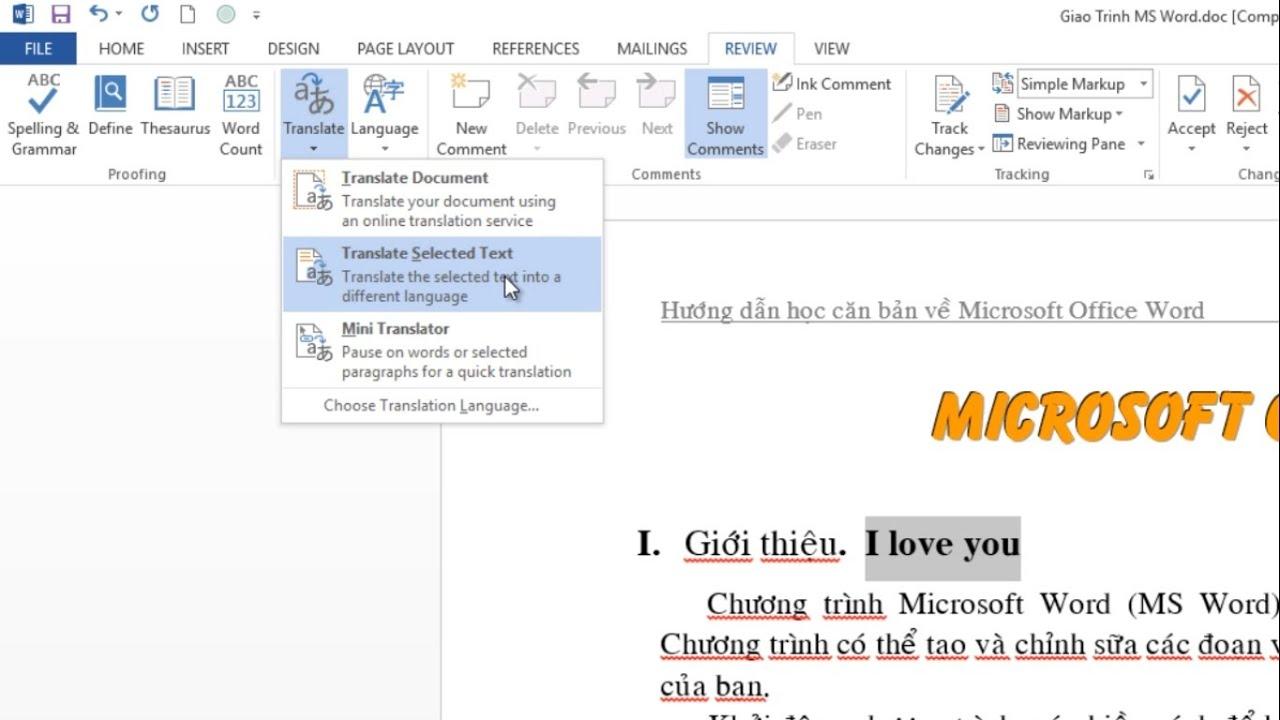 Top những phím tắt cực hay thường dùng trong Office Word