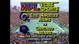 1985 NFC Championship - Rams vs Bears
