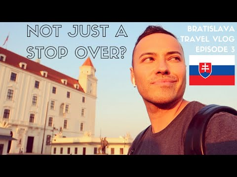 🇸🇰 BRATISLAVA TRAVEL GUIDE/VLOG | Trying Slovakian Food + First Impressions | EPISODE 3