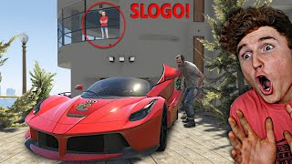 I STOLE Slogo's Car In GTA 5..