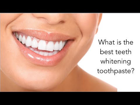 What Is The Best Teeth Whitening Toothpaste Youtube