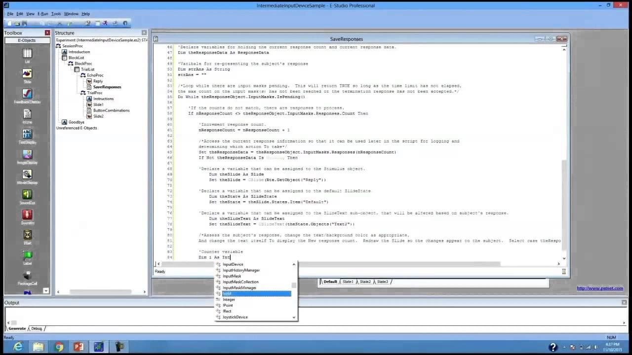E-Prime 2 0: Intermediate Scripting - Part 5