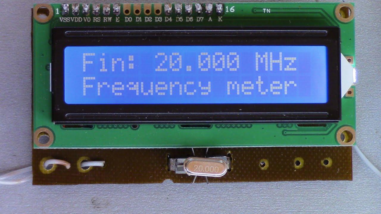частотомер на PIC16F628A