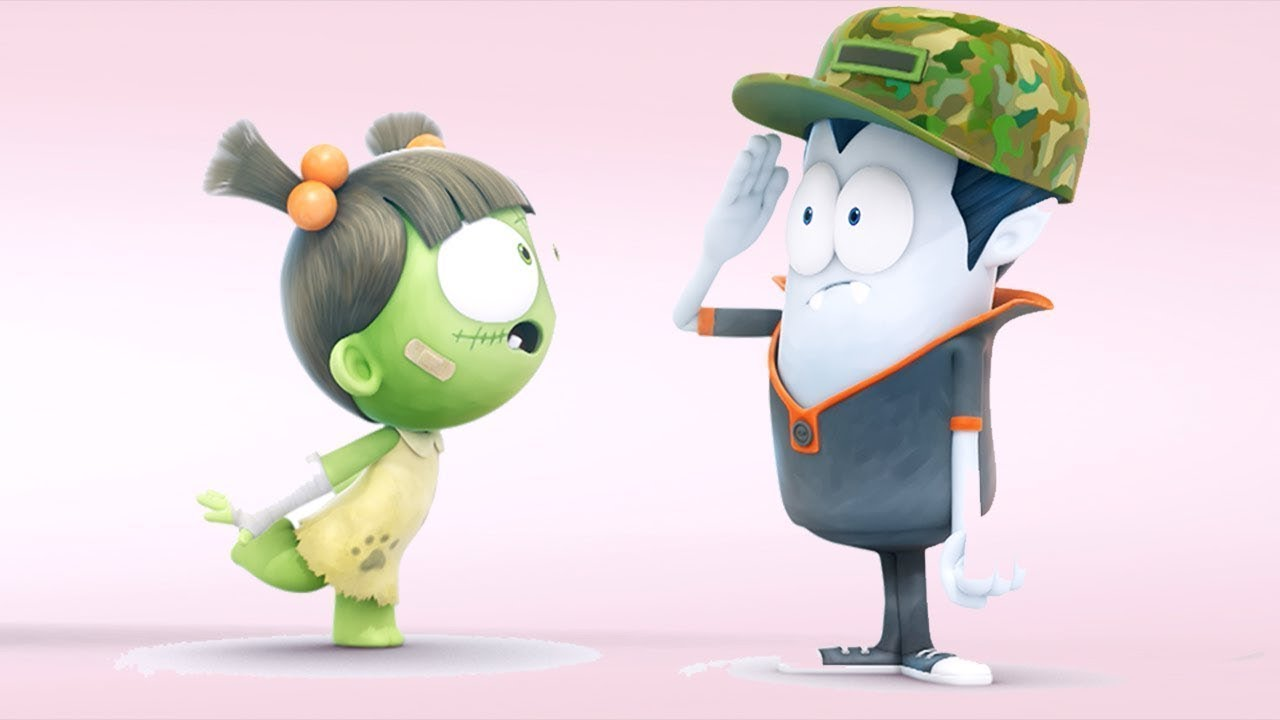 Spookiz | Lieutenant Kebi Dress Up  | Kids Cartoon | Funny Cartoon | WildBrain Cartoons