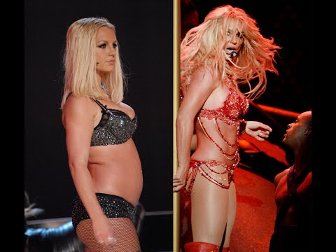 Thumbnail: Britney Spears Lazy Stripper VMA 2007 to Sex Goddess 2016 BBMA Performance