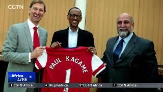 Rwanda unveils partnership deal with Arsenal to promote tourism