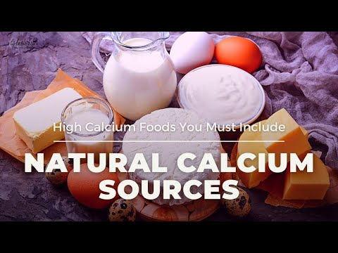 Health Tips : Top 10 High Calcium Foods That are Must In Your Diet | Natural Calcium Sources