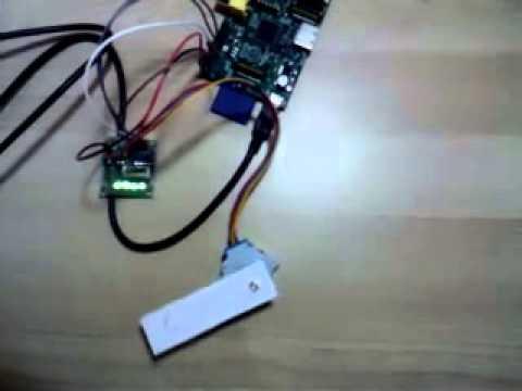 Control stepper motor through the gpio on raspberry pi for Raspberry pi stepper motor control