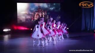 Детская эстрада   Летний отчетный концерт 2016   Dance Studio Focus   гр.Фиеста