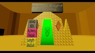 Roblox The Universe of Boxes - The Box of Eight Rooms