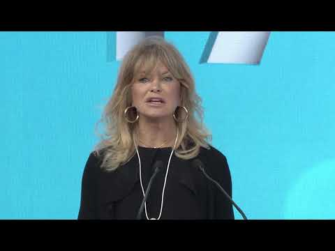 Mind Up And Be Happy! - Goldie Hawn - World Government Summit 2018/Highlights