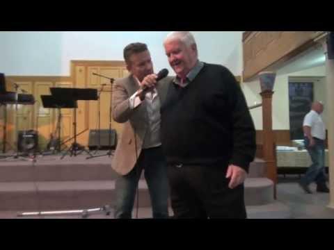 Pastor healed of painful knees, Edinburgh Scotland - John Mellor Healing MInistry