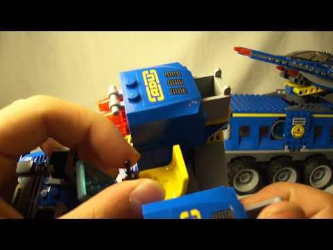 Lego Earth Defense HQ Review HD-Alien Conquest 7066