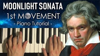 Baixar Beethoven - Moonlight Sonata - 1st Movement (PIANO TUTORIAL LESSON)