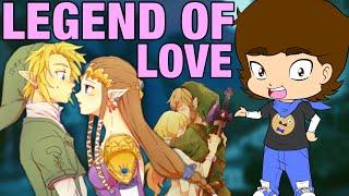 HIDDEN Love Lesson From Link and Zelda? (The Legend Of Zelda) - ConnerTheWaffle