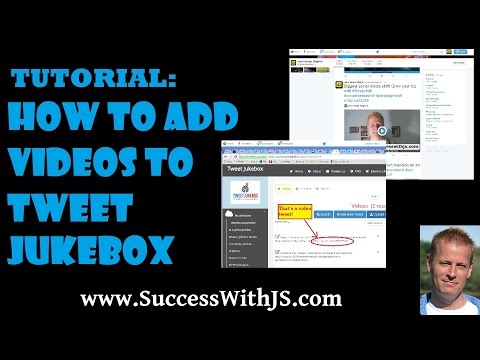 How to Add Video Tweets to Social Jukebox - Tutorial #4