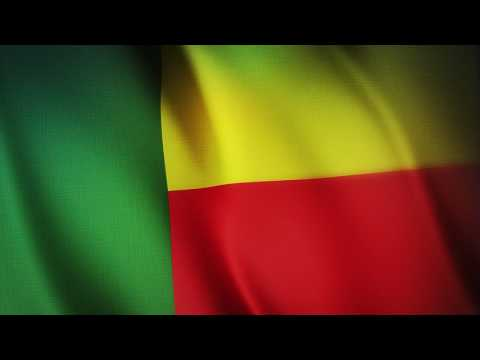 Flag of Benin - Free Royalty Footage - FreeGraphicStock.com
