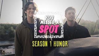 The Winchester Brothers | You missed a spot... [S1 humor] (dedications)