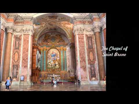 Basilica Saint Mary of the Angels and Martyrs - Rome, Italy - July 28, 2015