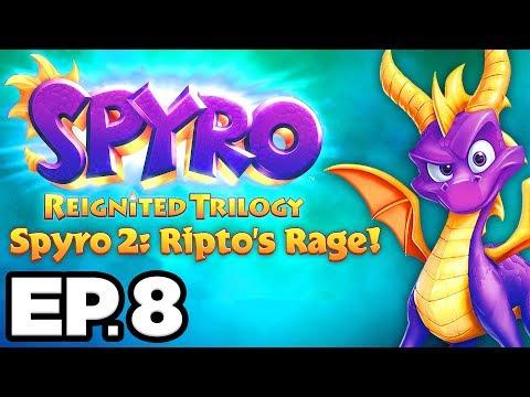 Spyro 2: Ripto's Rage Ep.8 - ZEPHYR, ROMEO & JULIET, OCEAN SPEEDWAY ORB!!! (Gameplay / Let's Play)