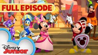 Mickey the Brave! | S1 E1 | Full Episode | Mickey Mouse Funhouse | @Disney Junior
