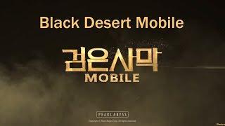 Black Desert Mobile (검은사막 모바일) [RU) - Качаем твинка, просто ночной стрим...