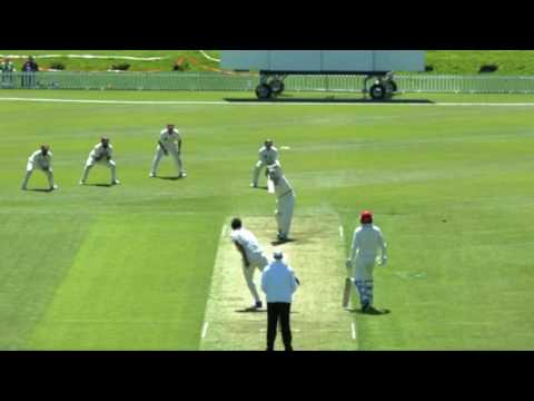 Todd Astle 167* Day 1 - Canterbury v Northern Districts - Plunket Shield, Hagley Oval