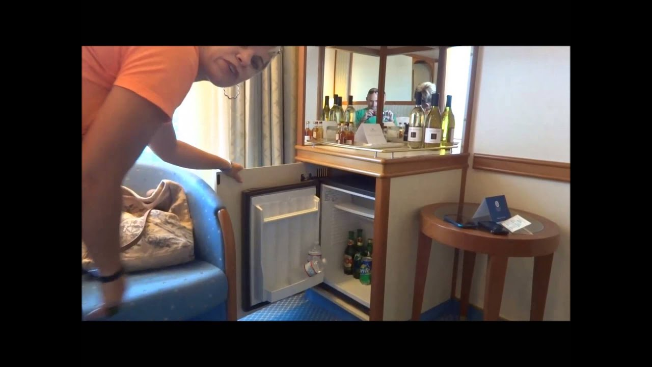 Star princess balcony cabin tour a250 youtube for Alaska cruise balcony room