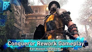 For Honor Season 5: Hands on with Conqueror Rework   Gameplay First Impressions
