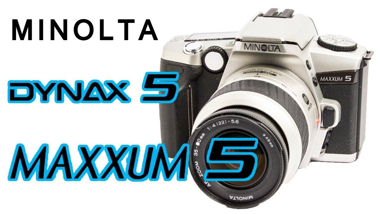 how to use minolta maxxum 5 dynax 5 slr film camera youtube rh youtube com minolta maxxum 5 review minolta maxxum 5 manual pdf