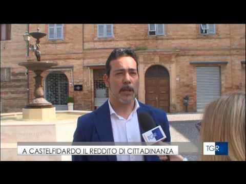 Tg3 Marche - Sindaco Roberto Ascani (M5S Castelfidardo) Reddito di Cittadinanza
