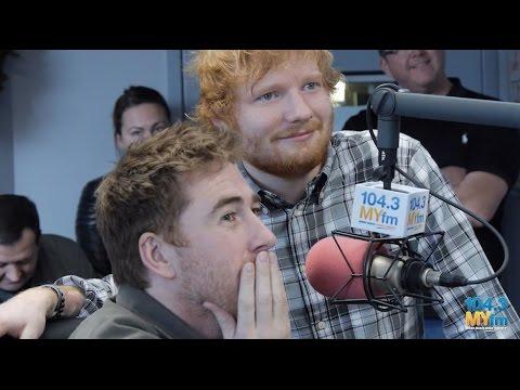 Ed Sheeran Surprises Jamie Lawson at 104.3 MY FM